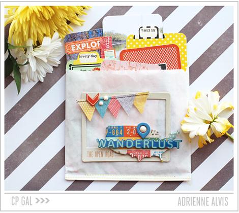 Crate Paper   Adrienne Alvis   Glassine Mini via Open Road