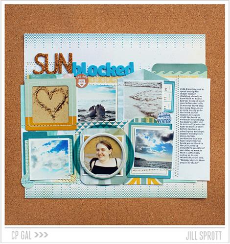 Crate Paper | CP Gal Jill Sprott | Sun Blocked