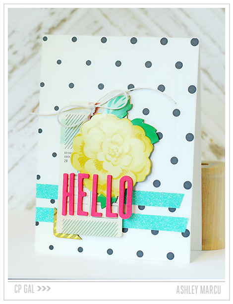 Crate Paper | Ashley Marcu | Hello Card