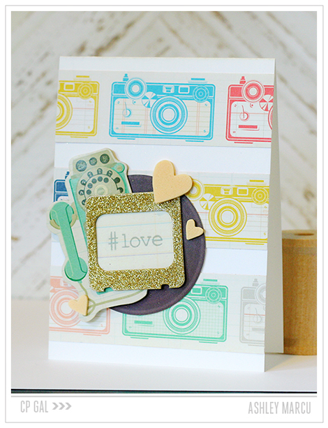 Crate Paper | Ashley Marcu | Love Card