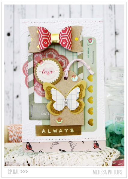 Crate Paper | Melissa Phillips| Always Card