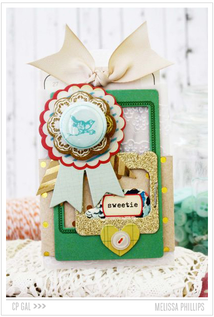 Crate Paper | Melissa Phillips | Sweetie Card