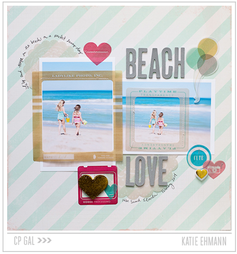 Crate Paper | Katie Ehmann | Beach Love