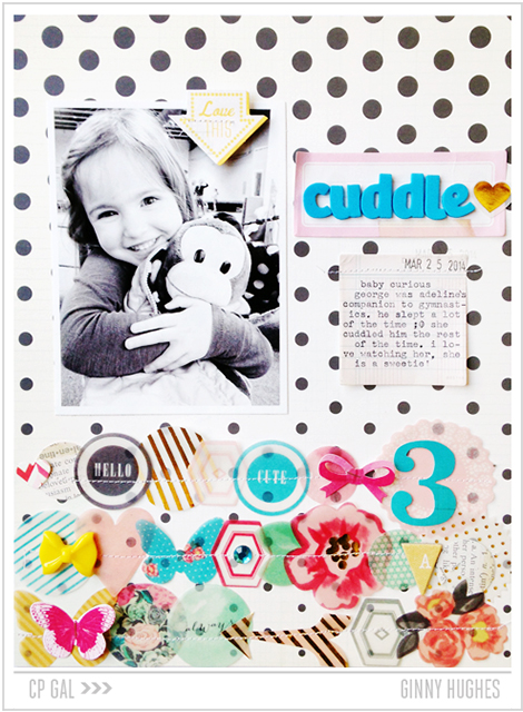 Crate Paper | Ginny Hughes | Cuddle Layout