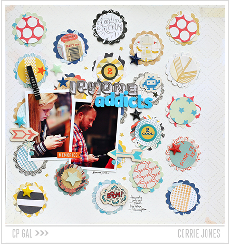 Crate Paper | Corrie Jones | Phone Addict Layout
