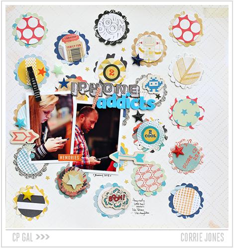 Crate Paper | Corrie Jones | Phone Addict Layout