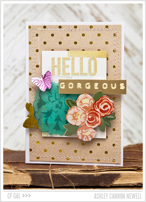 Crate Paper | Ashley Cannon Newell | Hello Gorgeous