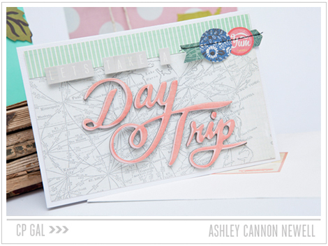 Crate Paper | Ashley Cannon Newell | Day Trip