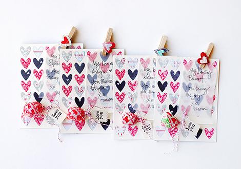 Crate Papwer Valentines | Wida Miller