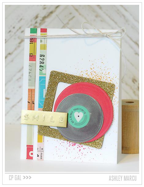 Crate Paper   Ashley Marcu   Smile Card