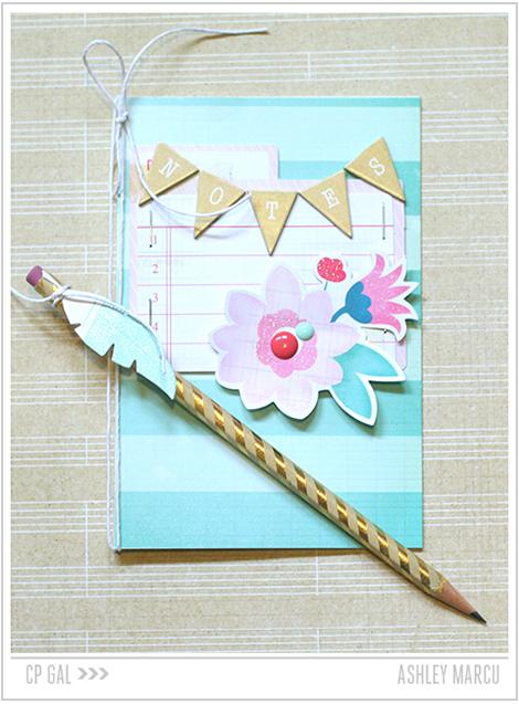 Crate Paper   Ashley Marcu   Notepad & Pencil