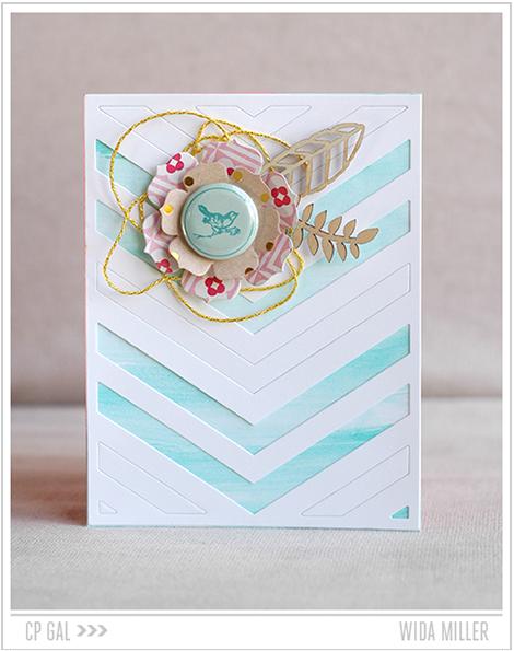 Crate Paper | Wida Miller | Oh Darling Card