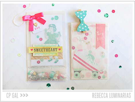 Crate Paper | Rebecca Luminarias | Confetti Bags