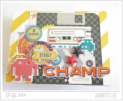 Crate Paper | Jeanette Lee | Champ
