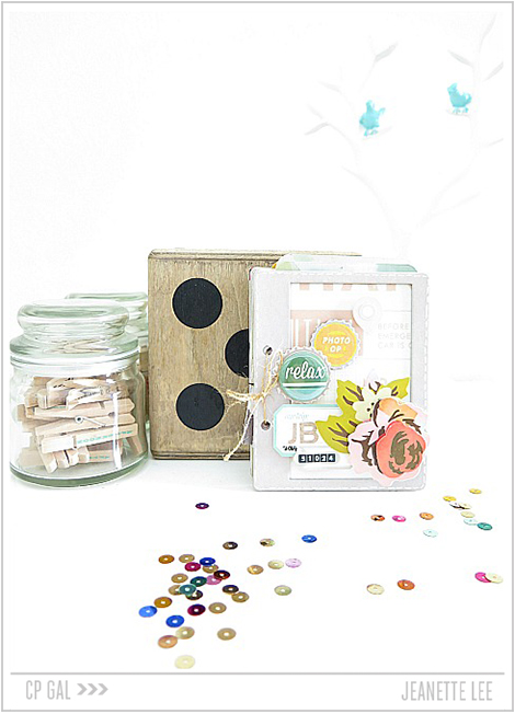 Crate Paper | Jeanette Lee | Journal Card Album