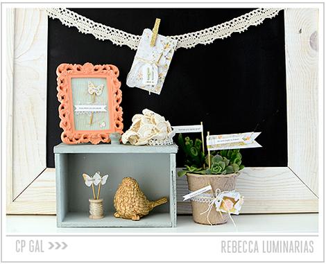 Crate Paper | Rebecca Luminarias | Spring Inspired