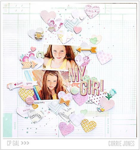 Crate Paper   Corrie Jones   My Girl via the Open Road collection