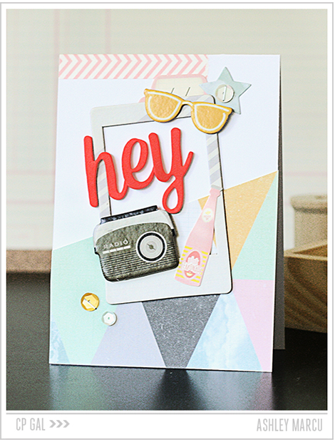 Crate Paper | Ashley Marcu | Hey There