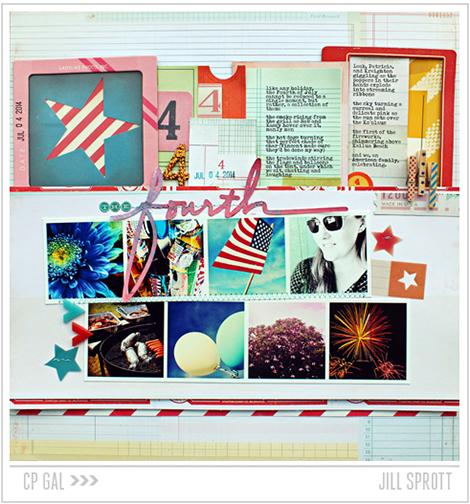 Crate Paper | CP Gal Jill Sprott | Fourth