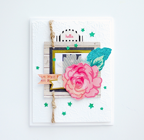 Crate Paper Card from CP Designer Wida Miller