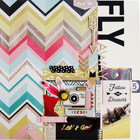 Crate Paper Journey CHA Layout