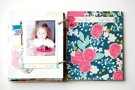 Laetitia Poissy Confetti Mini album  (13)