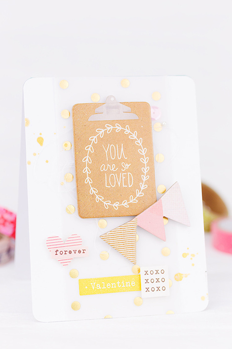 Sandradietrich_mojosanti_happyscrappyfriends_bloghop_card_valentinesday_cardmaking_cratepaper_xoxo_karte