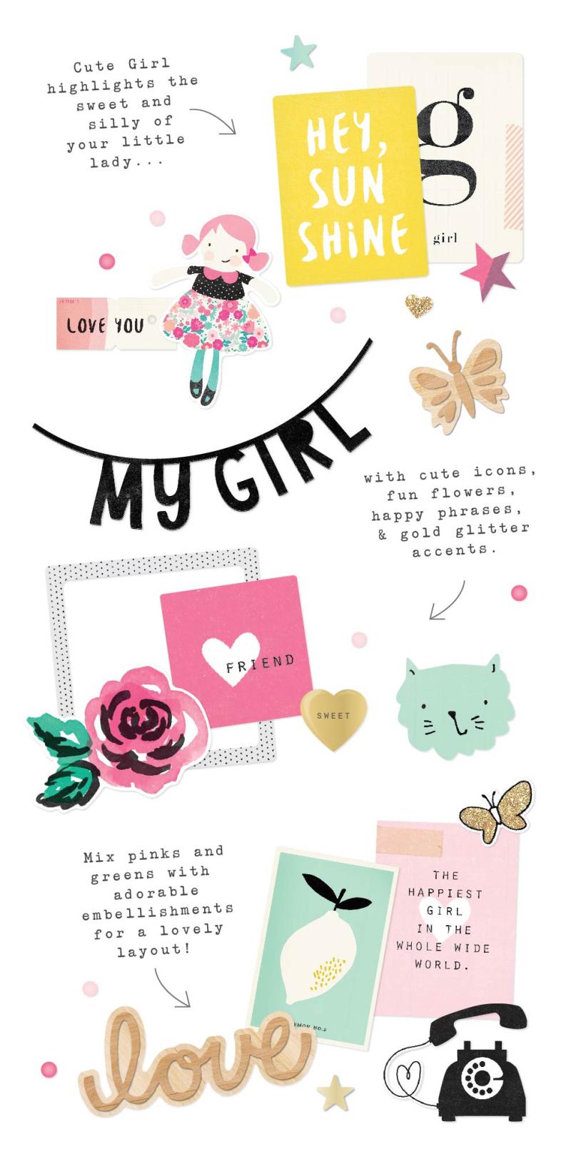 Cute girl_highlights
