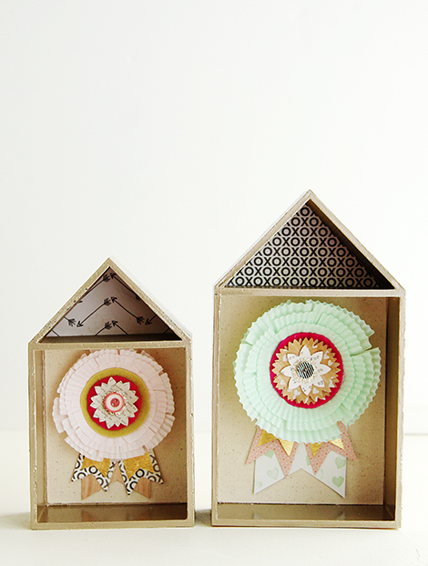 Rosette Houses by Christine Middlecamp 2
