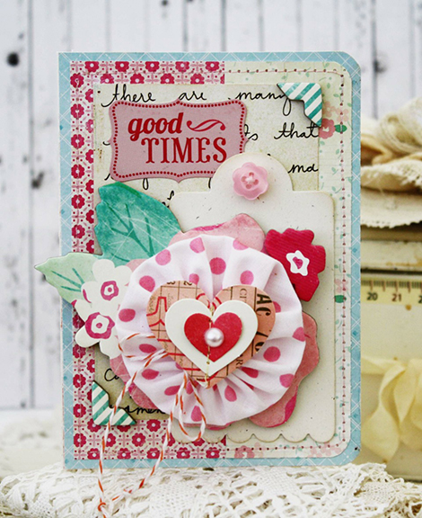 Good Times Crate Paper Card from CP Gal Melissa Phillips