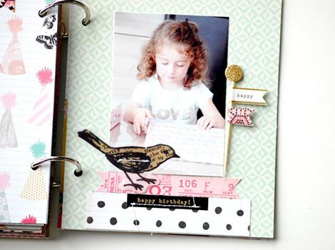 Laetitia Poissy Confetti Mini album  (15)