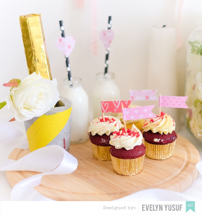 DIY Valentine Home Party American Crafts Details 3 by   Evelynpy