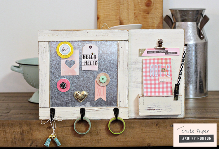 DIY Note Caddy