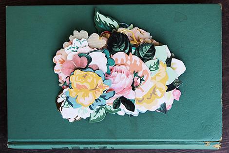Open Book Flowers
