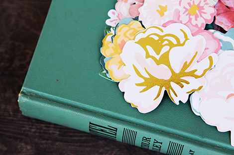 Open Book Flower Two