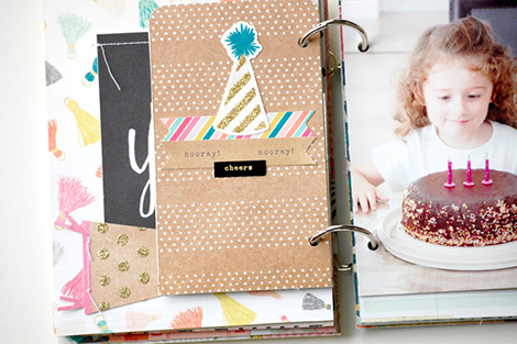 Laetitia Poissy Confetti Mini album  (11)