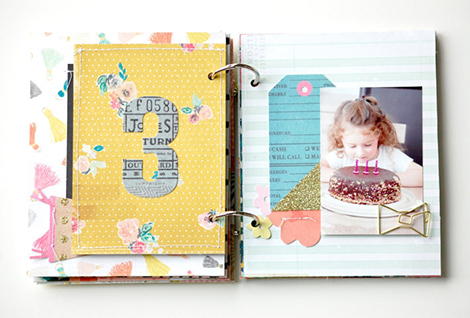 Laetitia Poissy Confetti Mini album  (12)