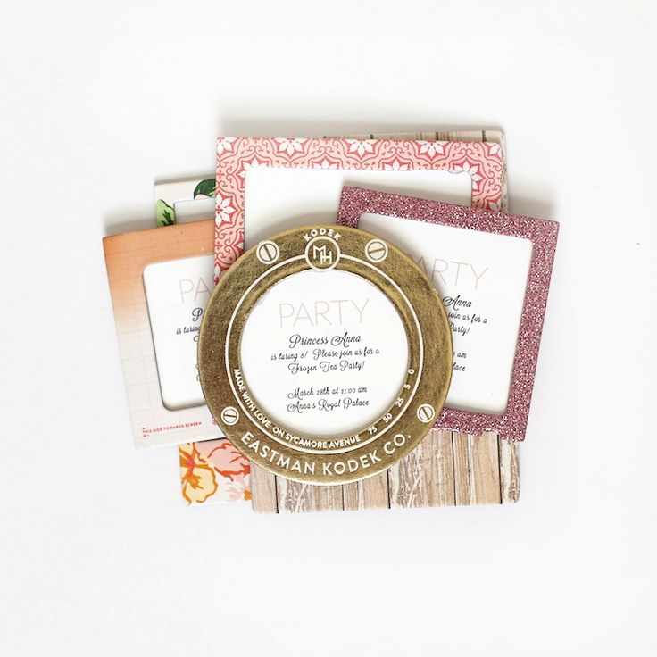 Party Invitations | Maggie Holmes Open Book Collection