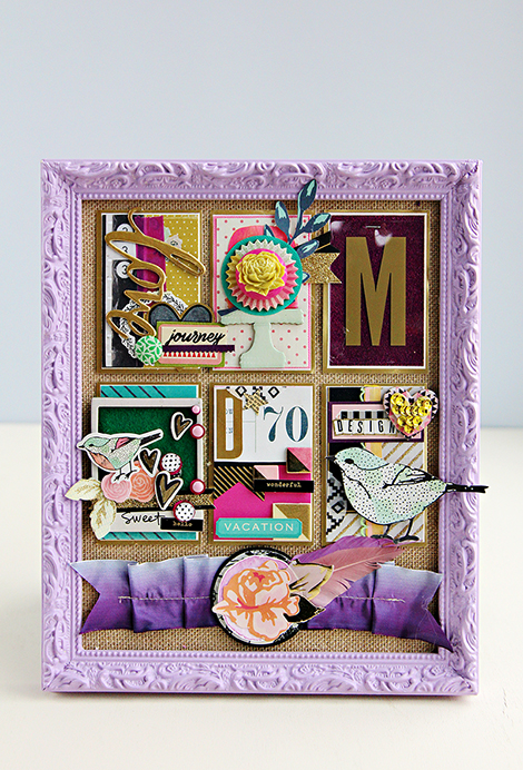 A Crate Paper Inspired Design Board by CP Gal Christine Middlecamp