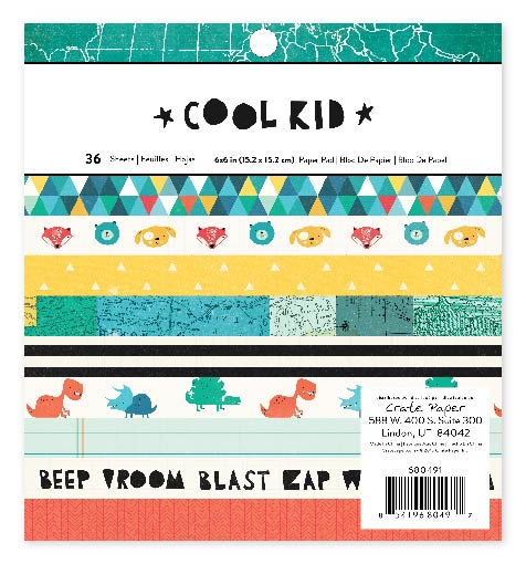 Cool kid_paper pad