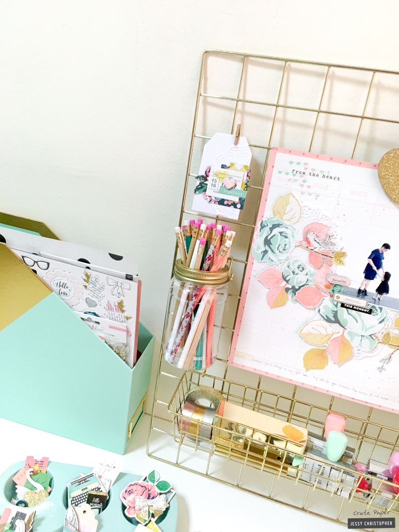 What I love about the paper rack is you can pull each shelf in and out for easy access to paper. How clever! And of course with this rack ...  sc 1 st  Crate Paper - Typepad & Using Craft + Office Storage as Decor - Crate Paper