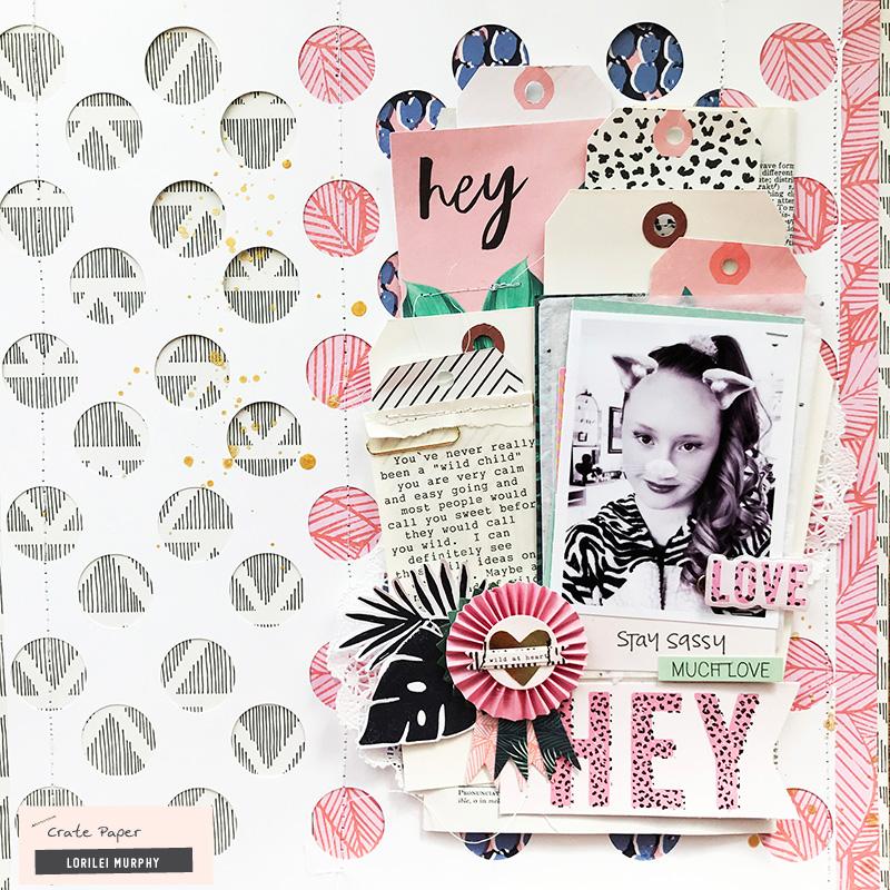 WILD HEART Crate Paper Ephemera Pack