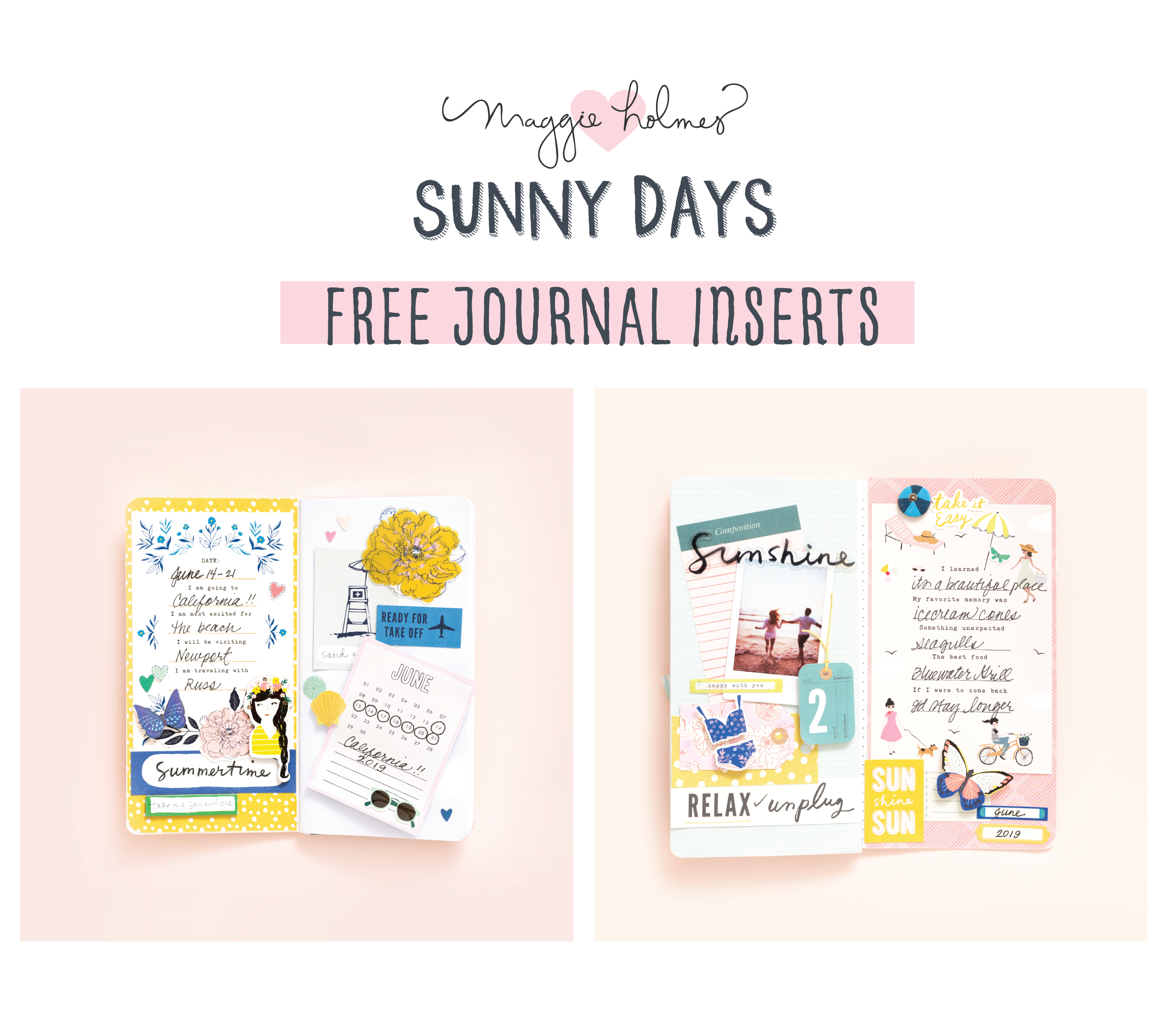 photograph relating to Printable Guides known as Cost-free Printable: Sunny Times Magazine Publications - Crate Paper
