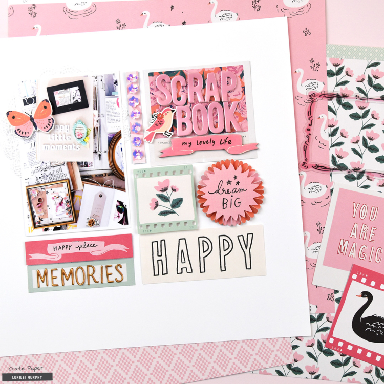 Why I Scrapbook with Lorilei - Crate Paper